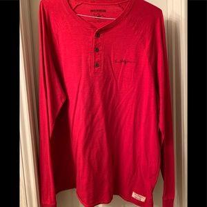 Men's Long Sleeve True Religion Shirt